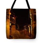 Ghostly Street Tote Bag