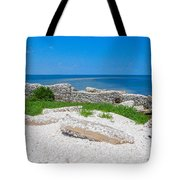 Ghosts In The Courtyard Tote Bag