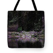 Ghosts In Twilight Tote Bag
