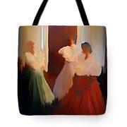 Ghosts Of A Louisianna Plantation Tote Bag