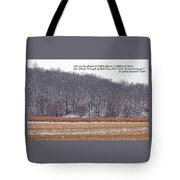Ghosts Of Fallen Leaves Tote Bag