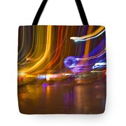 Ghosts Of The Lights Tote Bag