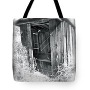 Ghosts Of The Outhouse Rocky Mountains Tote Bag
