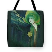 My Haunted Past Tote Bag