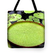 Giant Amazon Lily Pads Tote Bag