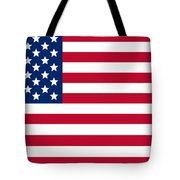Giant American Flag Tote Bag