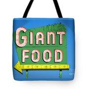 Giant Food Tote Bag