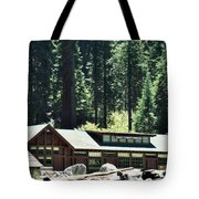 Giant Forest Museum Portrait Tote Bag