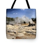 Giant Geyser Group Tote Bag