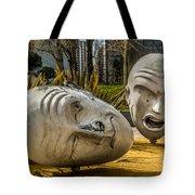 Giant Heads Tote Bag