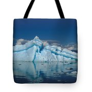 Giant Ice Floes Tote Bag