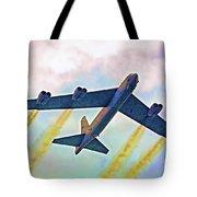 Giant In The Sky-digital Art Tote Bag