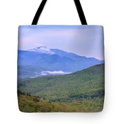 Giant Mountain From Owls Head Tote Bag
