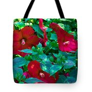 Giant Poppies Tote Bag