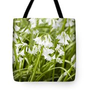 Giant Snowdrops Tote Bag