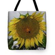 Giant Sunflower Tote Bag