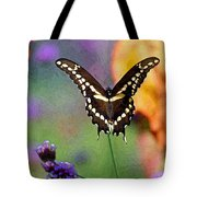 Giant Swallowtail Butterfly Photo-painting Tote Bag