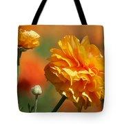 Giant Tecolote Ranunculus - Carlsbad Flower Fields Ca Tote Bag