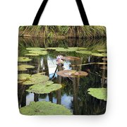 Giant Water Lilies Tote Bag