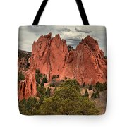 Giants Among The Trees Tote Bag