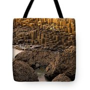 Giants Causeway, Antrim Coast, Northern Tote Bag