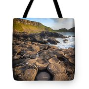 Giant's Causeway Circle Of Stones Tote Bag