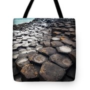 Giant's Causeway Hexagons Tote Bag