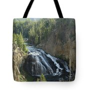 Gibbon River And Falls Tote Bag