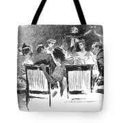 Gibson: Dinner Party, 1894 Tote Bag