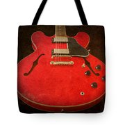 Gibson Es-335 Electric Guitar Body Tote Bag