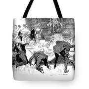 Gibson: Fans And Gloves Tote Bag