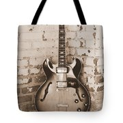 Gibson In Sepia Tote Bag