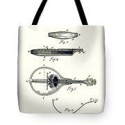 Gibson Mandolin Patent 1898 Tote Bag
