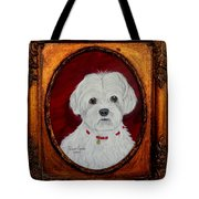 Gidget.my Maltese Tote Bag