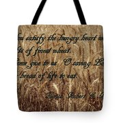 Gift Of Finest Wheat Tote Bag