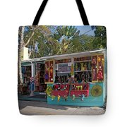 Gift Shop In Key West Tote Bag