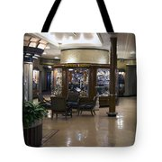 Gift Shops Queen Mary Ocean Liner Tote Bag