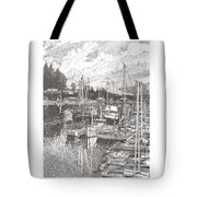 Gig Harbor Entrance Tote Bag