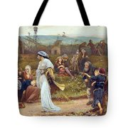 Gilbert A Beckets Troth The Saracen Maiden Entering London At Sundow  Tote Bag by George John Pinwell