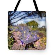 Gilcrease House Garden Flower Tote Bag