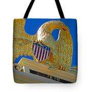 Gilded Eagle Tote Bag