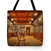 Gillette Castle Gallery Room Tote Bag