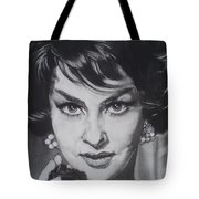Gina Lollobrigida Tote Bag