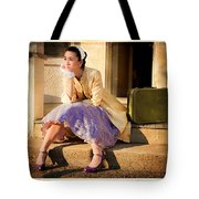 Gina On The Day Al Left Tote Bag