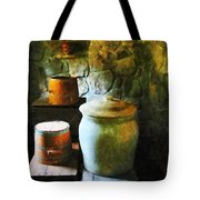 Ginger Jar And Buckets Tote Bag