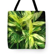 Ginger Lily. Alpinia Zerumbet Tote Bag