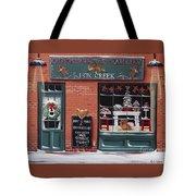 Gingerbread Bakery At Fox Creek Tote Bag