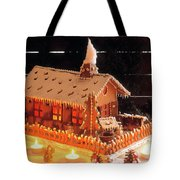 Gingerbread House, Traditional Tote Bag
