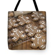 Gingerbread Man Cookies Tote Bag