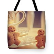 Gingerbread Men Tote Bag